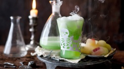 Witch Coctel. Recetas halloween The A Academy Clases Inglés baratas Español Frances madrid